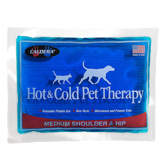 Caldera Hot & Cold Therapy with Gel for Dog Shoulders & Hip, Medium - Carousel image #1