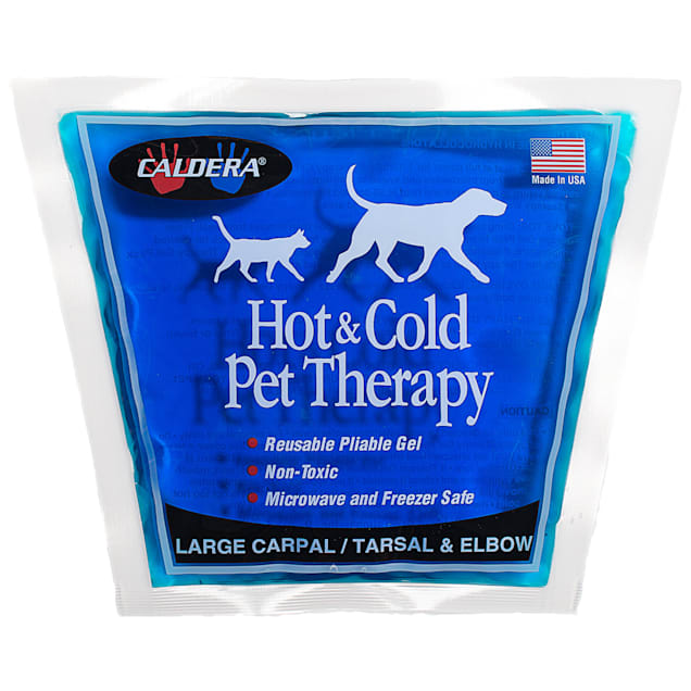 Caldera Hot & Cold Therapy with Gel for Dog Carpal/Elbows, Large - Carousel image #1