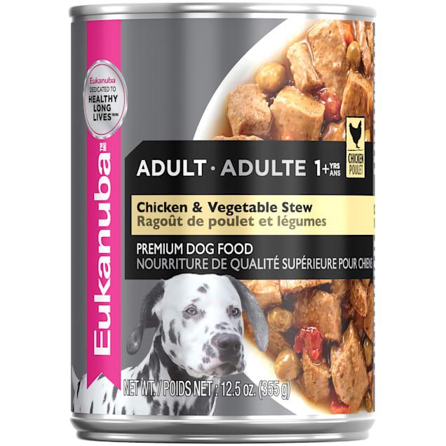 Eukanuba Chicken & Vegetable Stew Adult Wet Dog Food, 12.5 oz. - Carousel image #1