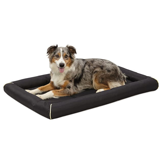 """Midwest Quiet Time Maxx Black Dog Bed, 42.5"""" L X 29"""" W - Carousel image #1"""