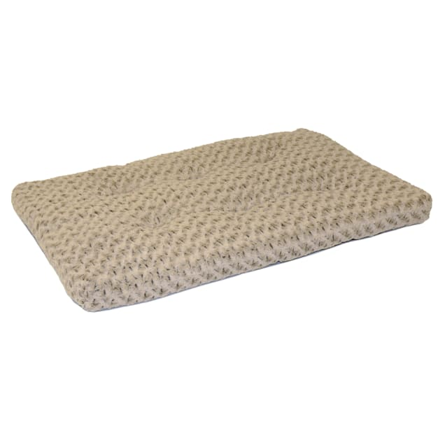 """Midwest Quiet Time Ombre Taupe Dog Bed, 46"""" L X 28"""" W - Carousel image #1"""