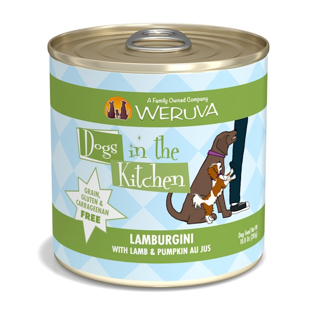 Dogs in the Kitchen Lamburgini with Lamb & Pumpkin Au Jus Wet Dog Food, 10 oz., Case of 12 - Carousel image #1