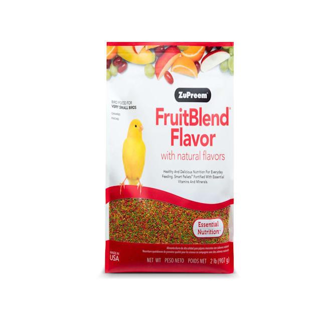 ZuPreem AvianBreeder Fruitblend Flavor Diet for Very Small Birds Bird Food, 2 LBS - Carousel image #1