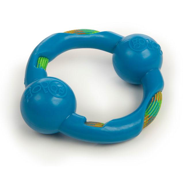 goDog Worldwise RopeTek Ring with Therma-Fuse Technology Dog Toy, Small - Carousel image #1