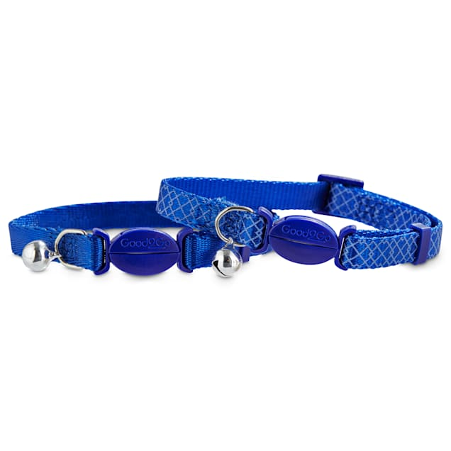 Good2Go Blue Breakaway Cat Collars, Pack of 2 - Carousel image #1