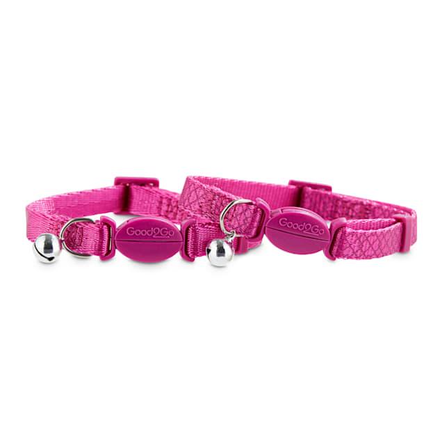Good2Go Pink Breakaway Cat Collars, Pack of 2 - Carousel image #1