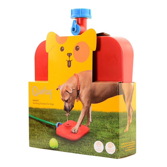 """Quirky Pawcet Drinking Fountain for Dogs, 9"""" L X 11.5"""" W X 1.5"""" H - Carousel image #1"""