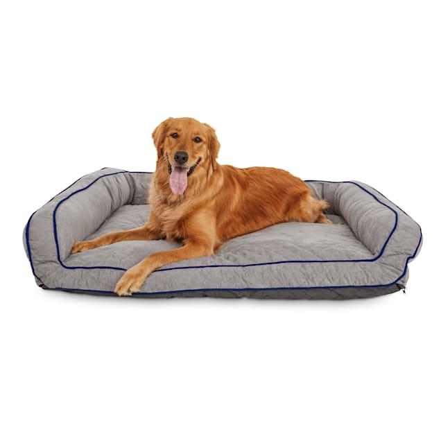 "Tranquil Sleeper Memory Foam Dog Bed, 48"" L x 36"" W - Carousel image #1"