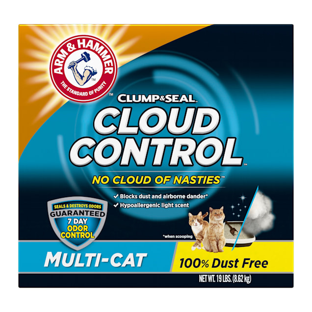 Arm & Hammer Clump & Seal Cloud Control Multi-Cat Litter, 19 lbs. - Carousel image #1