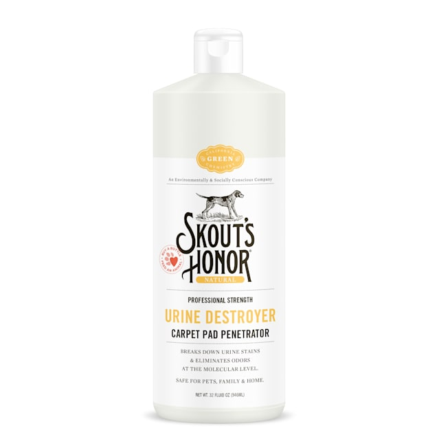 Skout's Honor Urine Destroyer Carpet Pad Penetrator for Dogs, 32 fl. oz. - Carousel image #1