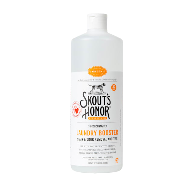 Skout's Honor Laundry Booster Stain & Odor Removal Additive for Dogs, 32 fl. oz. - Carousel image #1