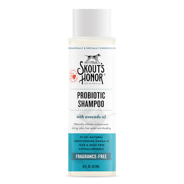 Skout's Honor Probiotic Shampoo Unscented for Dogs, 16 fl. oz. - Carousel image #1