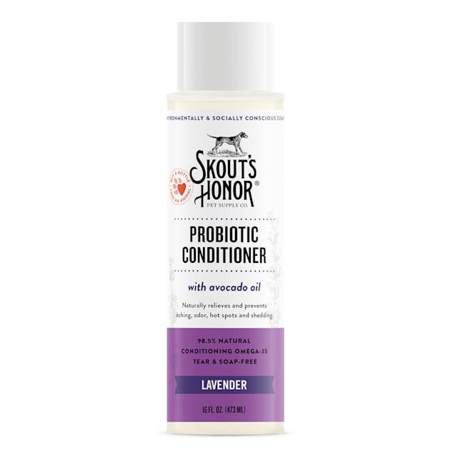 Skout's Honor Probiotic Conditioner Lavender for Dogs, 16 fl. oz. - Carousel image #1