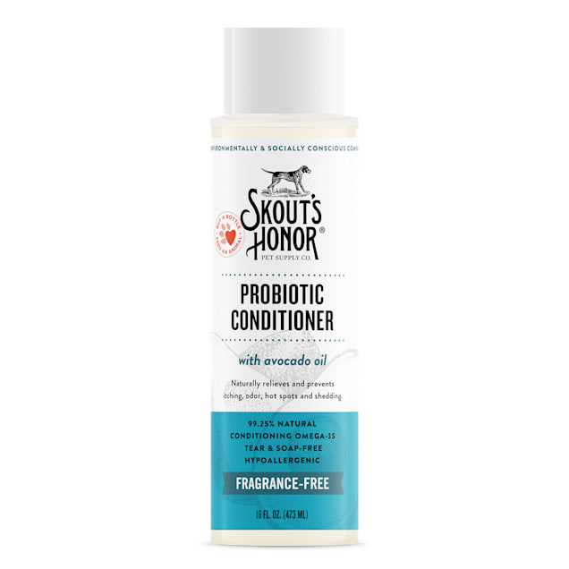 Skout's Honor Probiotic Conditioner Unscented for Dogs, 16 fl. oz. - Carousel image #1