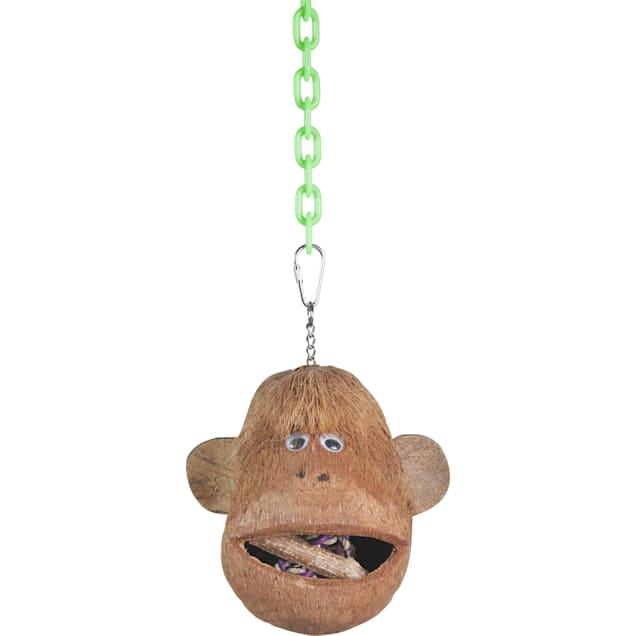 A&E Cage Coco Monkey Head for Birds, Medium - Carousel image #1