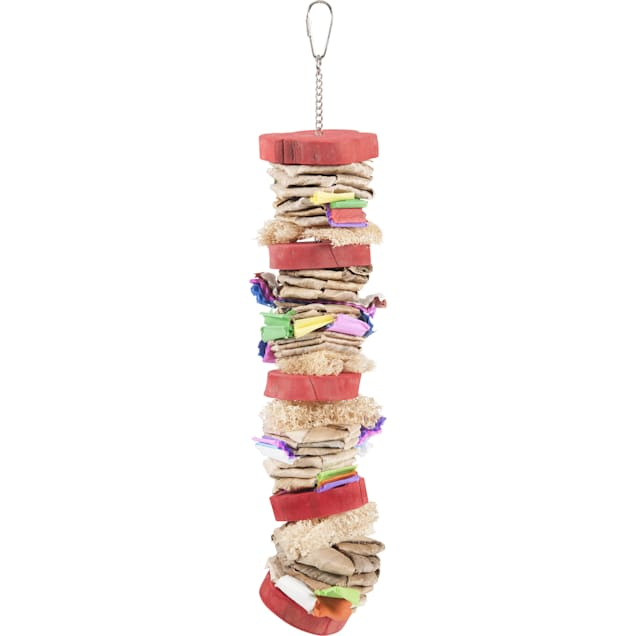 A&E Cage Color Splash Hanging Bird Toy, Large - Carousel image #1