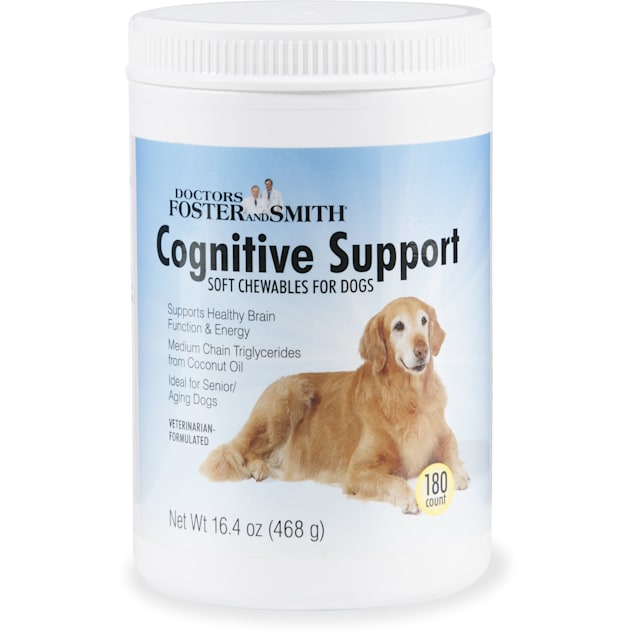 Drs. Foster and Smith Cognitive Support Soft Chew for Dogs, 2 Packs of 180 - Carousel image #1