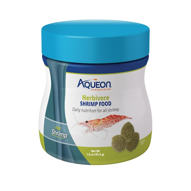 Aqueon Herbivore Shrimp Food, 1.6 oz - Carousel image #1