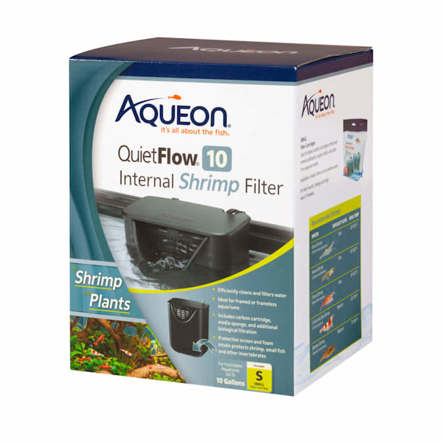 Aqueon QuietFlow 10 Internal Shrimp Filter - Carousel image #1