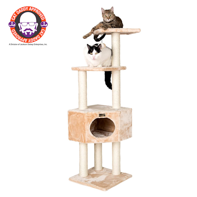 "Armarkat Classic Model A5201 Cat Tree, 52"" H - Carousel image #1"