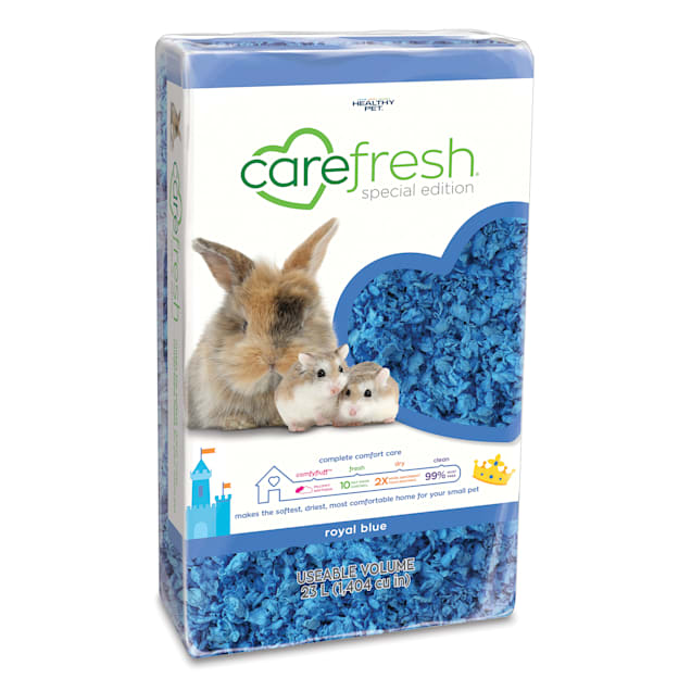 Carefresh Royal Blue Small Pet Bedding, 23 Liter - Carousel image #1