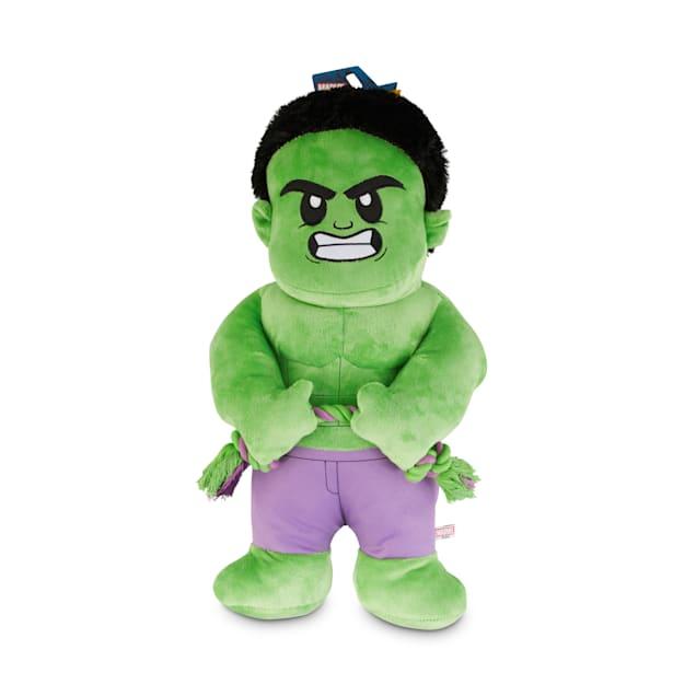 Marvel Avengers Hulk Plush Dog Toy, X-Large - Carousel image #1