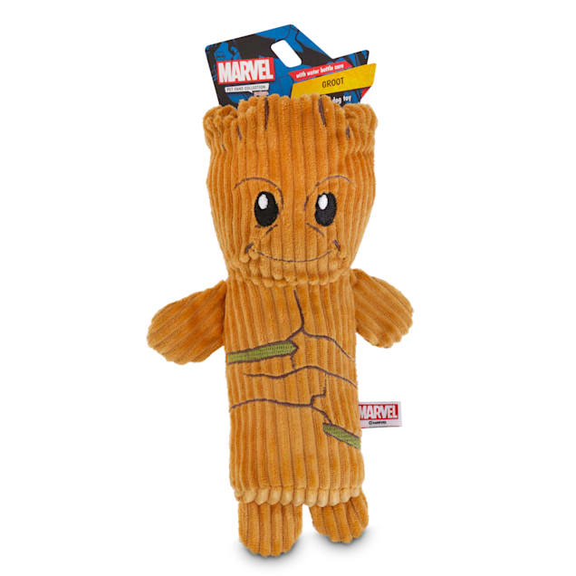 Marvel Guardians of the Galaxy Groot Bottle Cruncher Stick Dog Toy, Medium - Carousel image #1