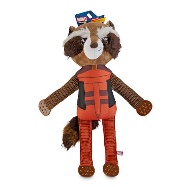 Marvel Guardians of the Galaxy Rocket Raccoon Plush Dog Toy, X-Large - Carousel image #1