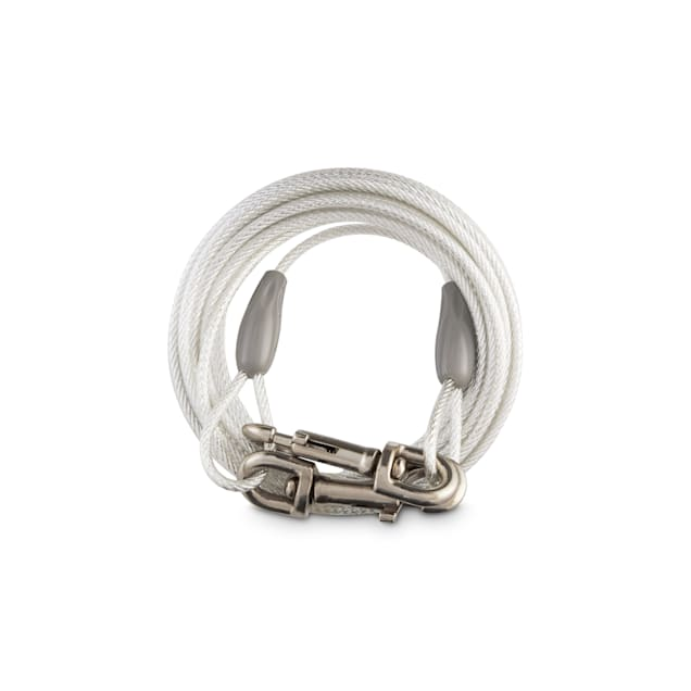 You & Me Free-To-Flex Reflective Tie-Out Cable for Dogs Up to 100 lbs., 30' L, Large - Carousel image #1
