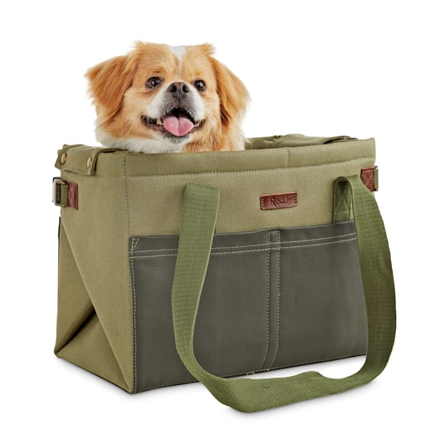 "Reddy Convertible Cotton Pet Carrier and Mat in Camo, 14"" L x 8.5"" W x 11"" D - Carousel image #1"