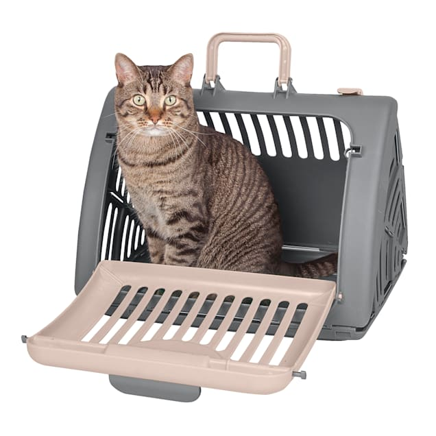 Sport Pet Kitty City Tan Pet Travel Carrier, Small - Carousel image #1