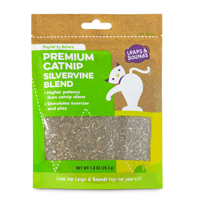 Leaps & Bounds Playful by Nature Premium Catnip Silver Vine Blend Cat Toy, Small - Carousel image #1