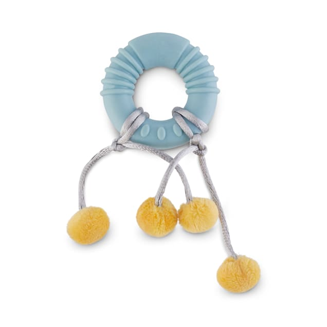 Leaps & Bounds Little Paws Teething Ring Kitten Toy - Carousel image #1
