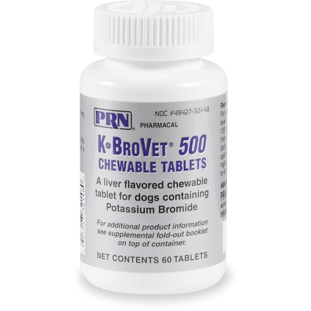K-BroVet 500 mg, 60 Chewable Tablets - Carousel image #1