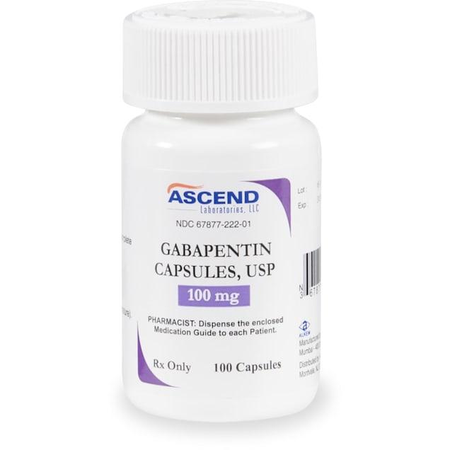 Gabapentin (Generic) 100 mg, 60 Tablets - Carousel image #1
