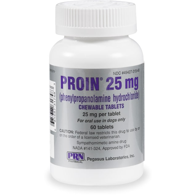 Proin 25 mg, 60 Chewable Tablets - Carousel image #1