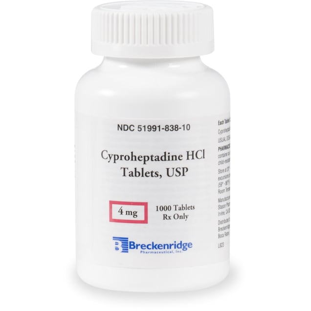 Cyproheptadine HCL (Generic) 4 mg, 30 Tablets - Carousel image #1