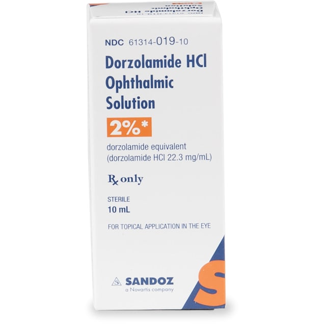 Dorzolamide HCL Ophthalmic Solution, 10 ml - Carousel image #1