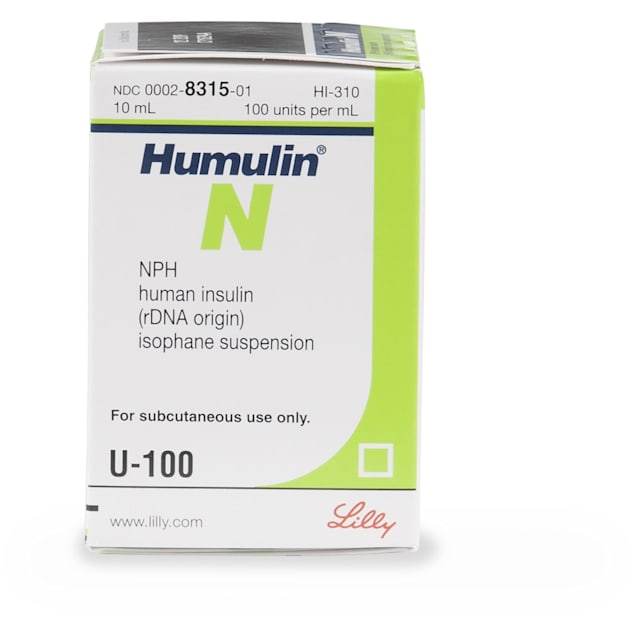 Humulin-N Injectable Solution, 10 ml Vial - Carousel image #1
