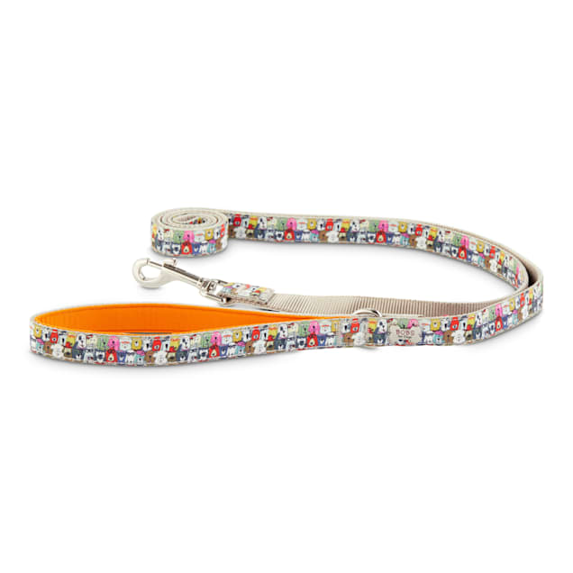 """BOBS from Skechers Wag Party Leash, 6' L X 0.75"""" W - Carousel image #1"""