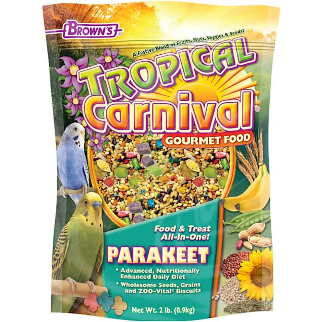 Brown's Tropical Carnival Parakeet Food, 2 lbs. - Carousel image #1