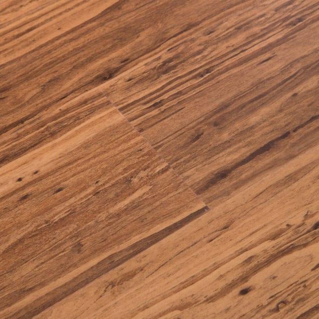 "Cali Vinyl Mocha Eucalyptus PRO Wide and Click Vinyl Plank Flooring, 23.77sq.ft./box, 10 planks, 48"" x 7-1/8"" x 7/32"" - Carousel image #1"