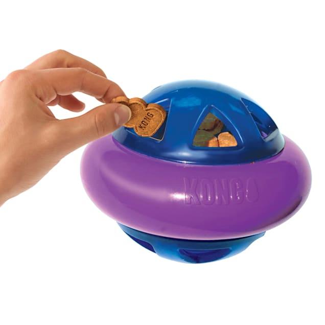 KONG Hopz Ball Dog Toys, Small - Carousel image #1