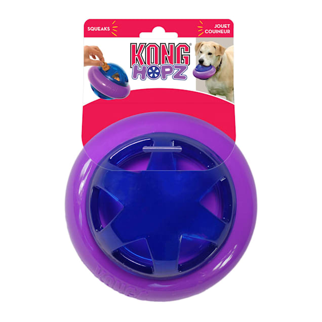 KONG Hopz Ball Dog Toys, Small - Carousel image #1