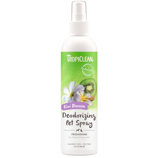 TropiClean Kiwi Blossom Deodorizing Pet Spray, 8 fl. oz. - Carousel image #1