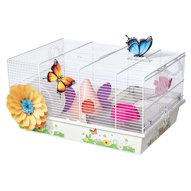 """Midwest Critterville Butterfly Hamster Cage, 13.85"""" L X 19.4"""" W X 9.8"""" H - Carousel image #1"""