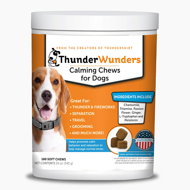ThunderWunders Calming Chews, Count of 180 - Carousel image #1
