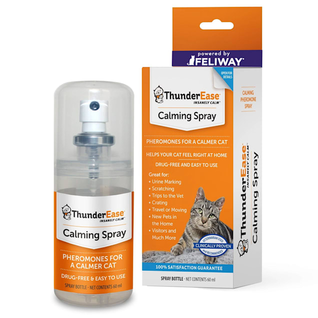ThunderEase Calming Spray for Cats, 60 ml. - Carousel image #1