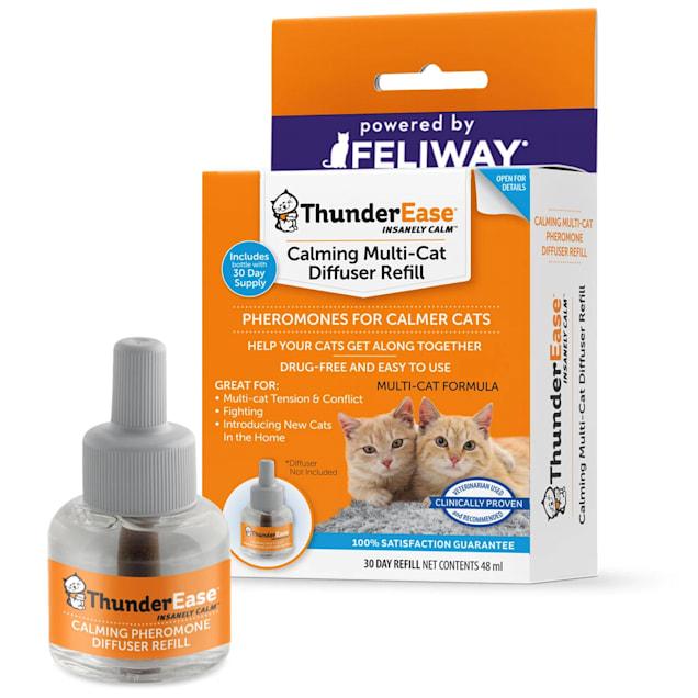 ThunderEase Calming Diffuser Refill for Multi-Cat, 48 ml. - Carousel image #1