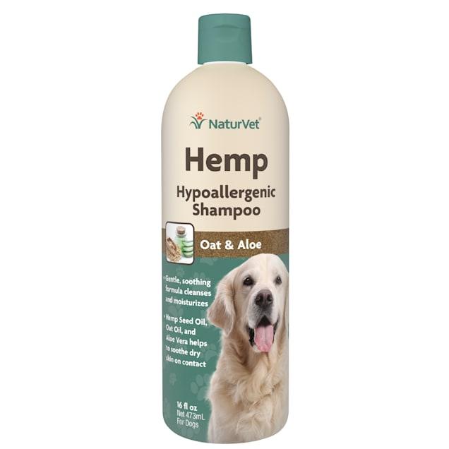 NaturVet Hemp Hypoallergenic Shampoo for Dogs, 16 fl. oz. - Carousel image #1